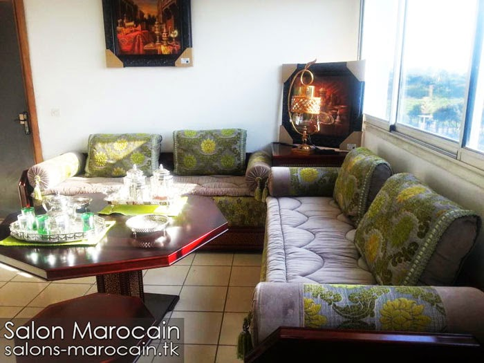 salon marocain moderne   Decoration marocaine   Page 22