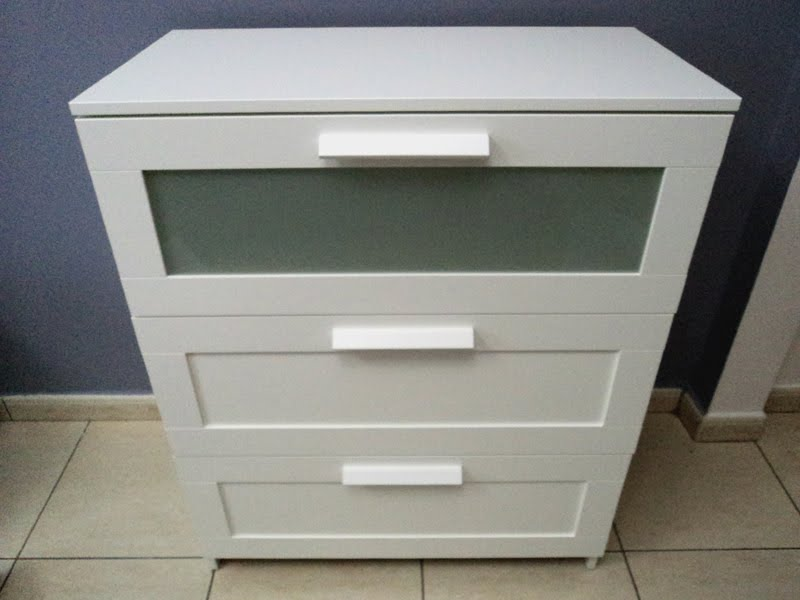 Chest Of Drawers Ikea Dubai ~   assembled the chest of drawers according to Ikea's instructions