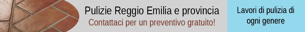 Pulizie Reggio Emilia