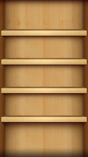 Free Download Wood Shelf HD iPhone 5 Wallpapers