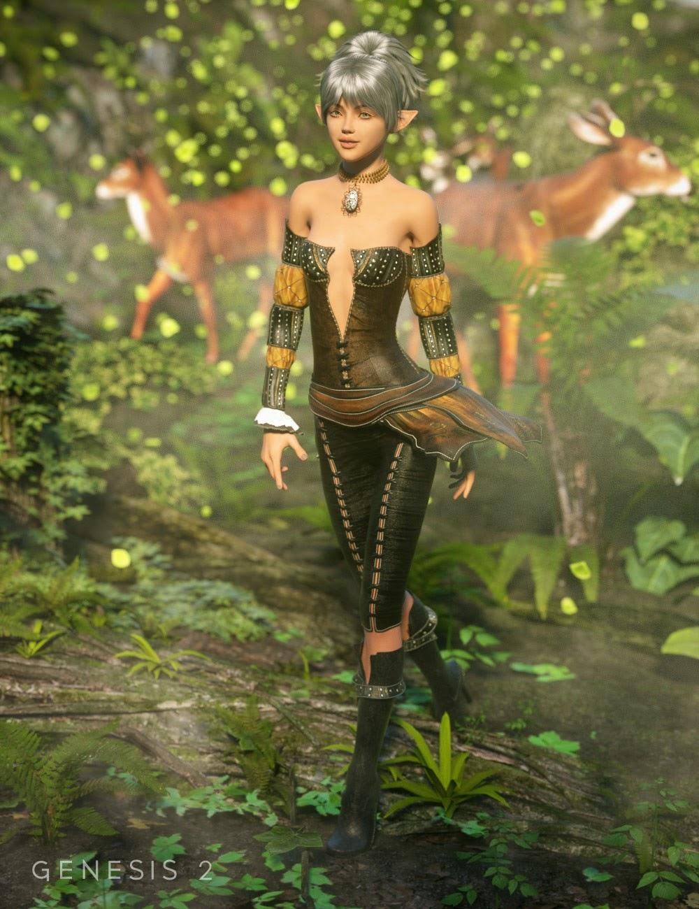 Elven Grove Outfit pour Genesis 2 Femme