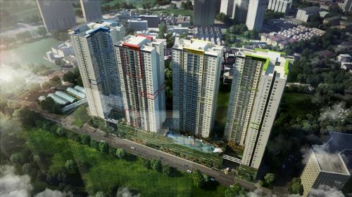 Phối cảnh tổng quan dự án Seasons Avenue