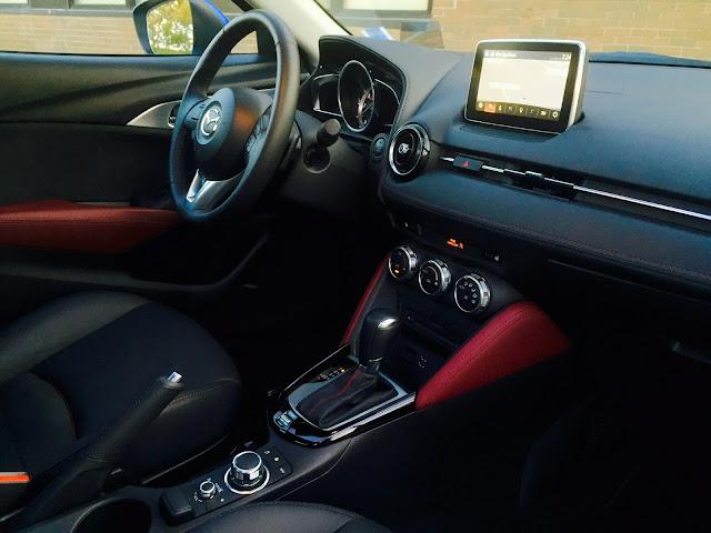 2016 Mazda CX-3 GT interior