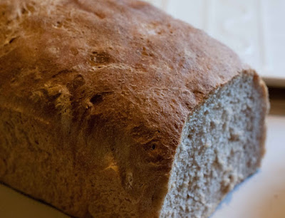 an Italian-style bread with some whole wheat flour in it, and a bit of ...