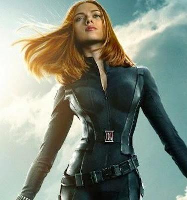 Scarlett Johansen beauty black widow Captain America