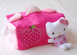 Tempat Tissue Hello Kitty