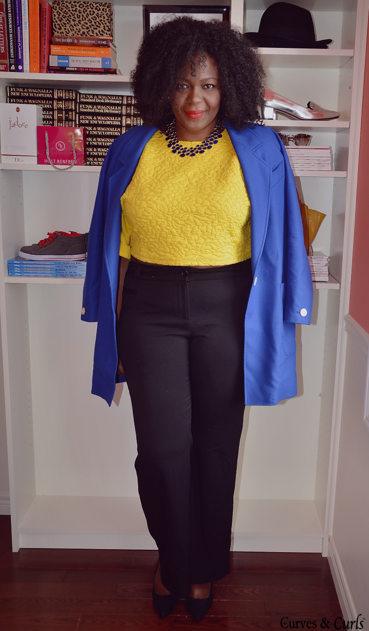 one-top 3 ways: how to wear a crop to #plussize fashion for women