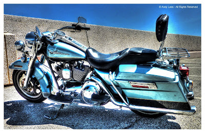 Harley Davidson HDR motorcycle