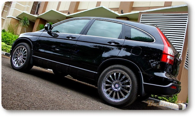Modifikasi Mobil Honda CRV Terbaru black