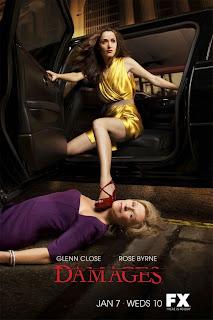 Damages, Rose Byrne, Glenn Close, TV