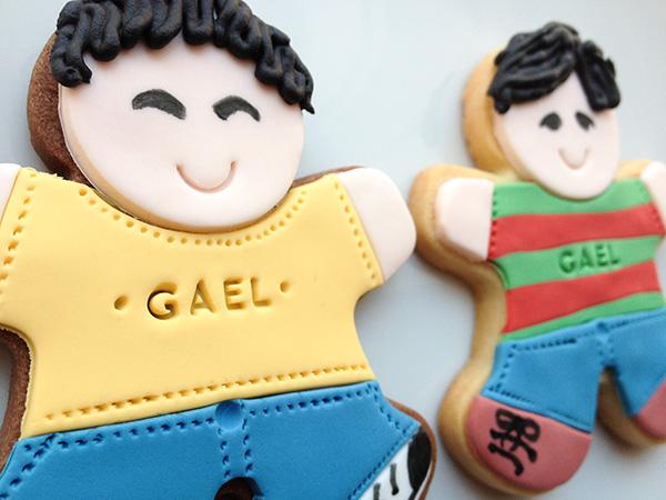 galletas personalizadas decoradas con fondant para niños