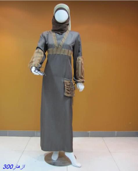 عبايات انيقة وبسيطة للمحجبات 2013 abaya
