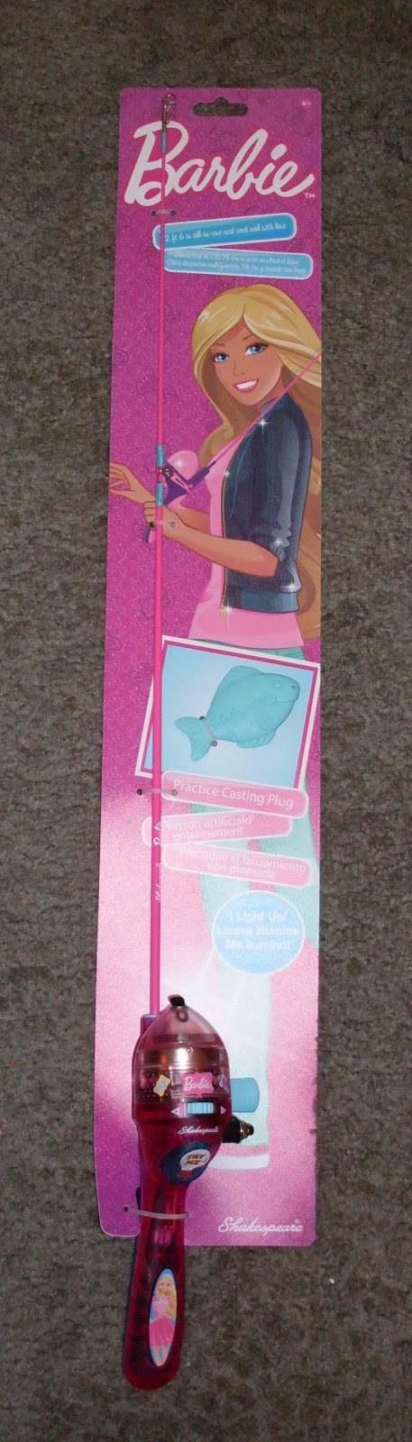 Skippercollector june 2015 for Barbie fishing pole