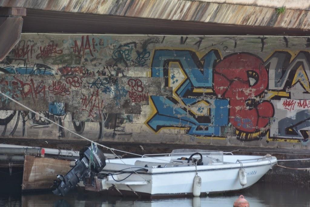 Graffiti Rimini boat