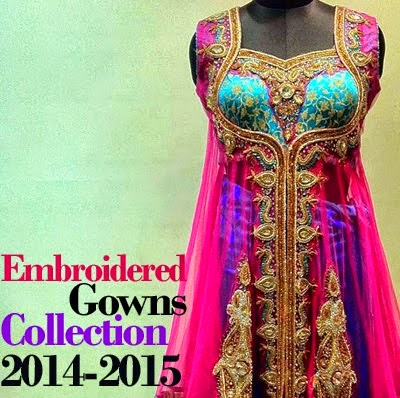 South Asian Fashion Gowns 2014-2015