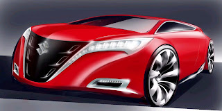 Gambar Mobil Suzuki Sport Merah