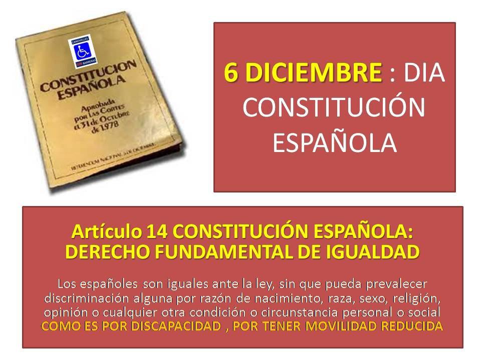 Canovellas Spain  City pictures : CANOVELLES SIN BARRERAS: DIA 6 DICIEMBRE .DIA CONSTITUCIÓN ESPAÑOLA ...
