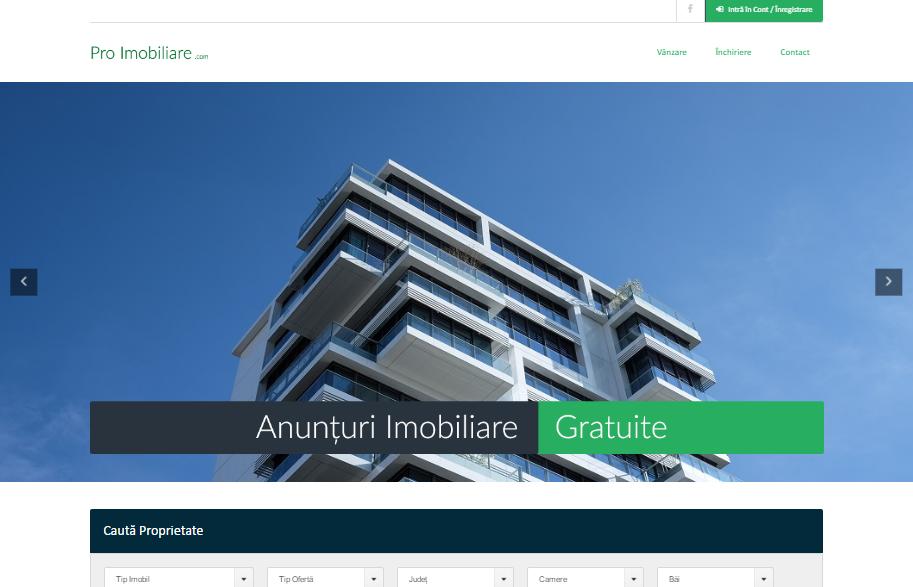 ANUNȚURI IMOBILIARE GRATUITE 100%!