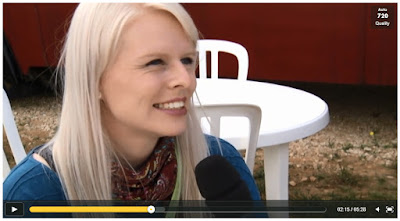 Nienke Bos TV Interview France 3