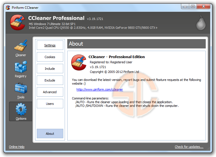 CCleaner 3 19 1721 Professional Business