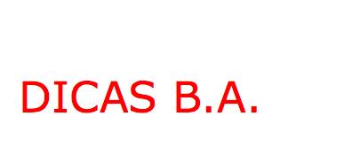 Dicas B.A.