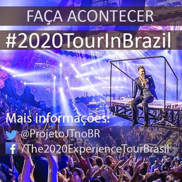 Projeto The 20/20 Experience World Tour – Brasil