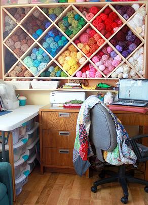 Stitch Story: Contemplating Yarn Storage Ideas