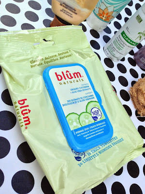 Blum Naturals Daily Cleansing and Makeup Remover Towelettes, Normal Skin Review