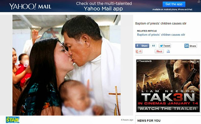 screenshot priest kisses wife