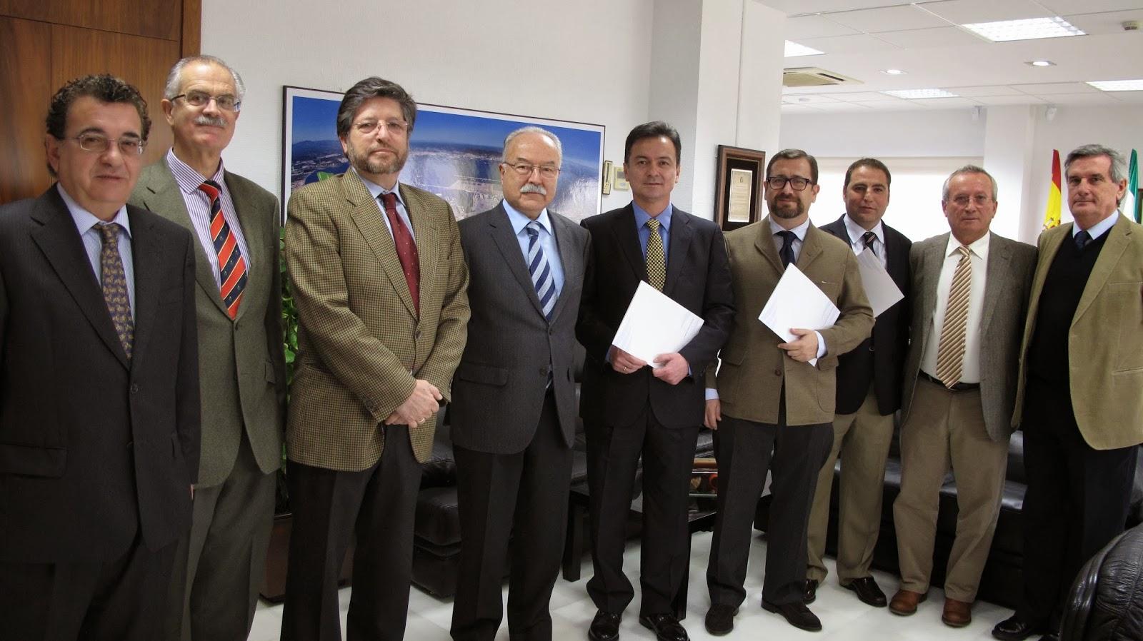 Entrega de las credenciales a los tres nuevos Prácticos del Puerto Bahía de Algeciras