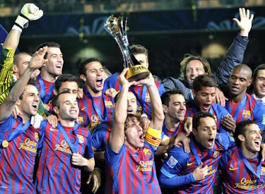 Barca Wins Club World Cup Again!