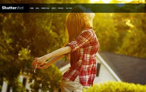 Adament Free Photography WordPress Theme