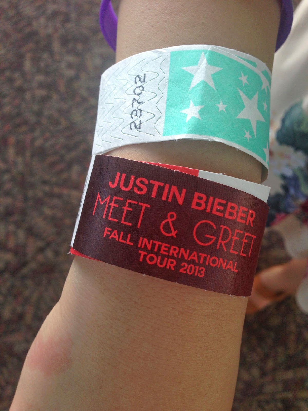 My bieber experience and gave us vip lanyards m4hsunfo