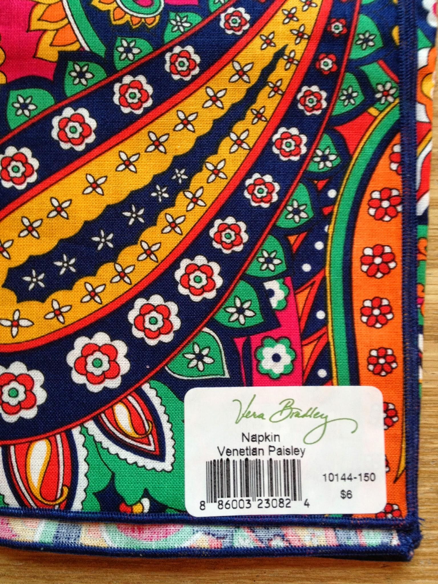 Vera bradley pattern names