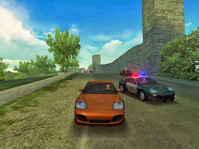 gameplay image of nfs hot pursuit 2