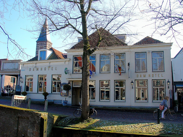 The Dam Hotel in Edam, The Netherlands.