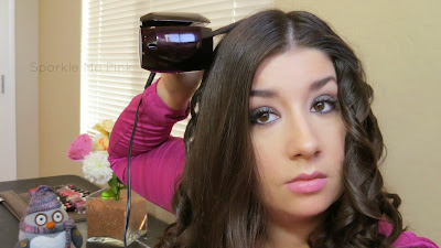 Sparkle Me Pink | Infiniti Pro by Conair: Curl Secret | Review & Demo #ConairCurl #shop #cbias