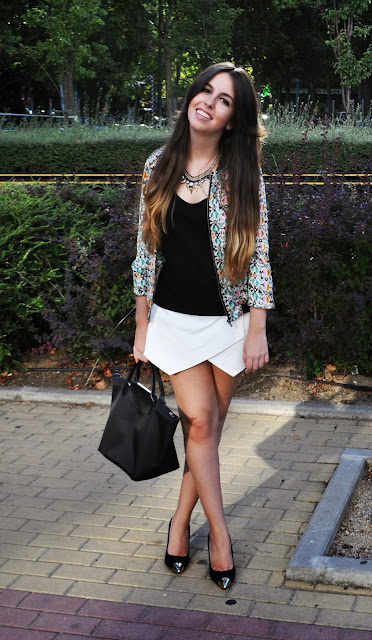 hey vicky hey, victoria suarez, skort, falda short, zara, chicas, moda, vfno madrid, vogue fashion night out, 2013