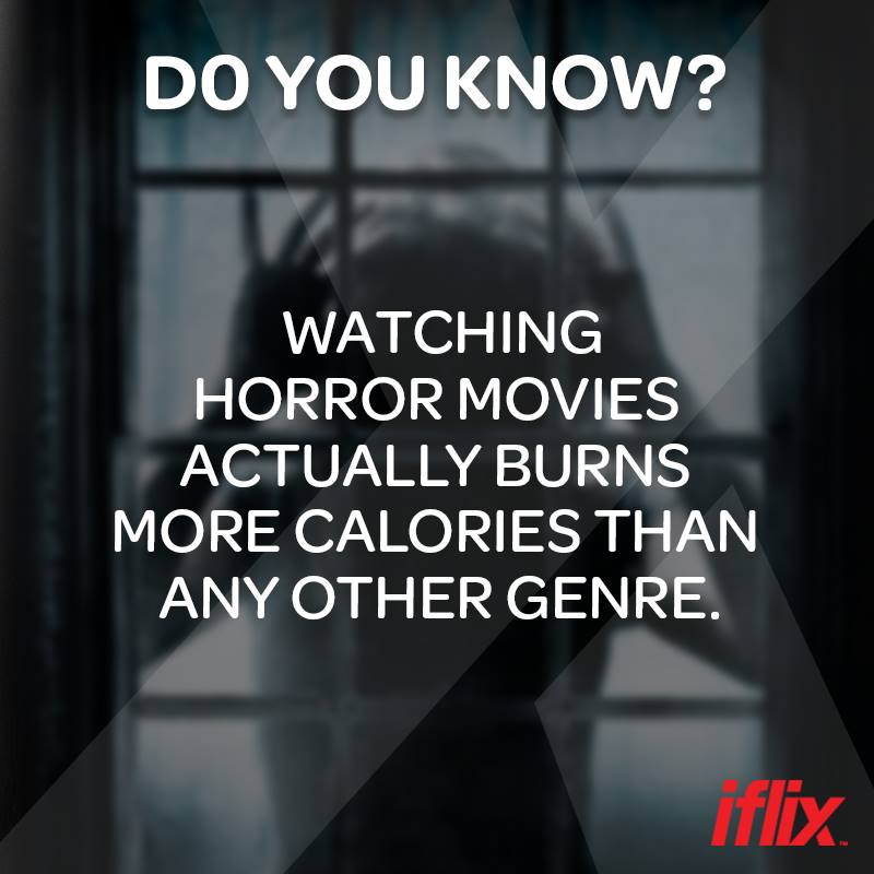 tengok cerita seram bakar lebih kalori