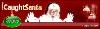I Caught Santa Logo
