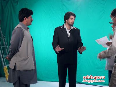 Babrik Shah and Alishba Commercial Snaps
