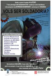 CARTELL DEL CFGM DE SOLDADURA I CALDERERIA