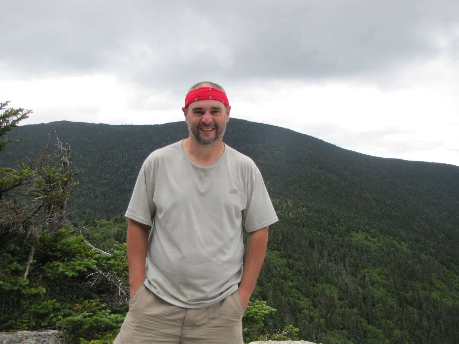 Looking scrubby on top of Jennings Peak- August 2015