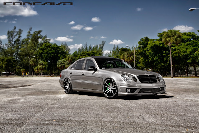 Mercedes benz w211 e500 on concavo cw 5s benztuning for Miami mercedes benz dealers