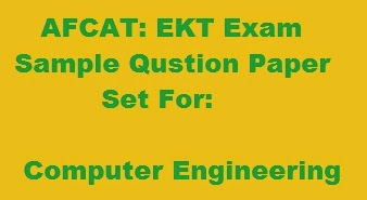 sample Question Paper for EKT: Computer engineering
