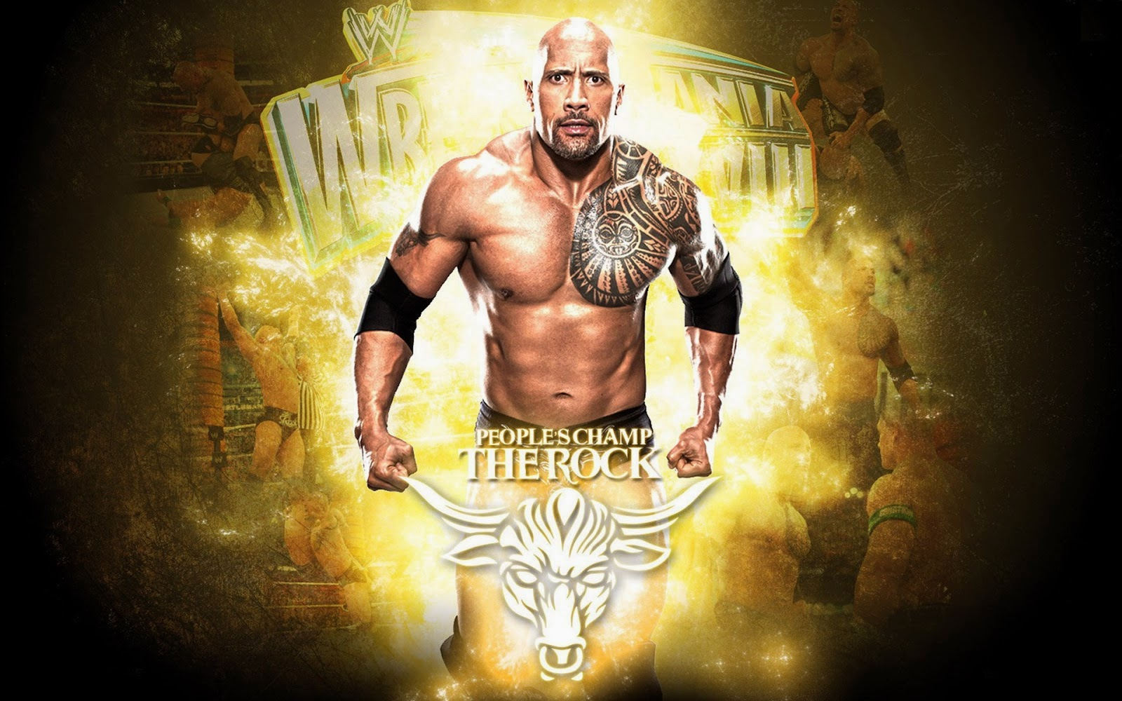 The Rock Wwe New HD Wallpapers - Wallpapers
