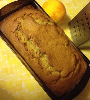 Banana Bread in pan
