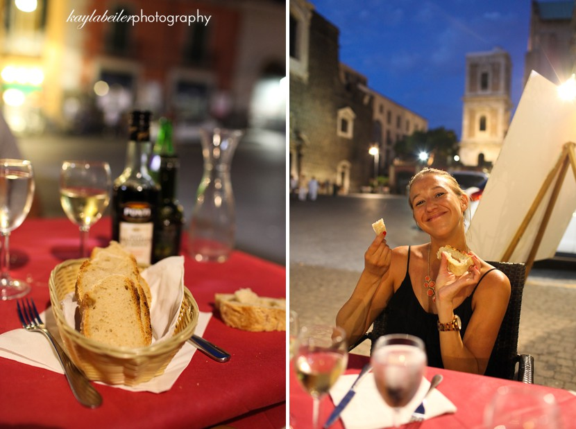 dinner in naples photo
