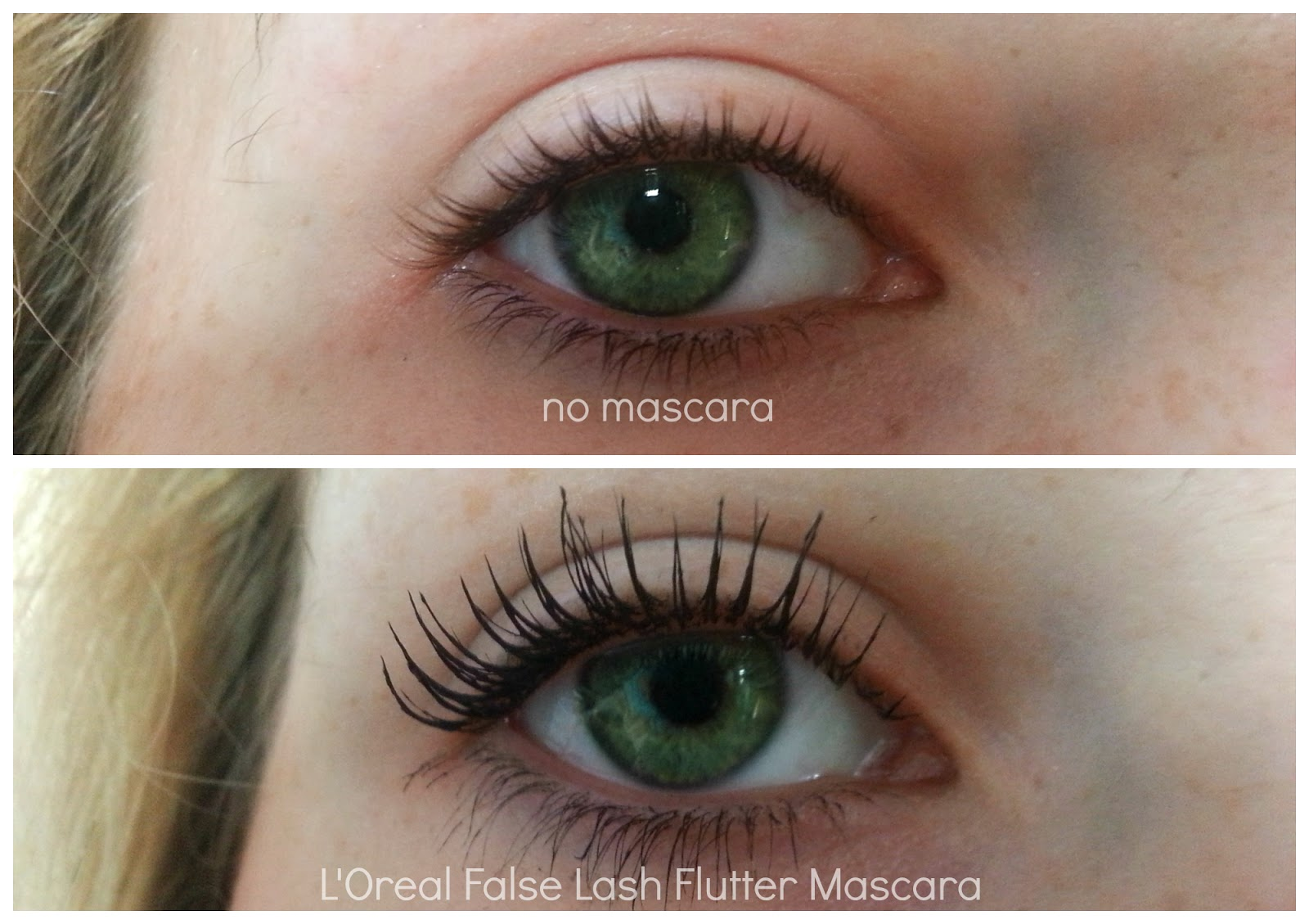 review loreal false lash flutter mascara lauren loves blog