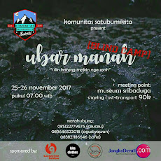 Event Sabuki : Ubar Manah - Blind camp, 25 - 26 November 2017